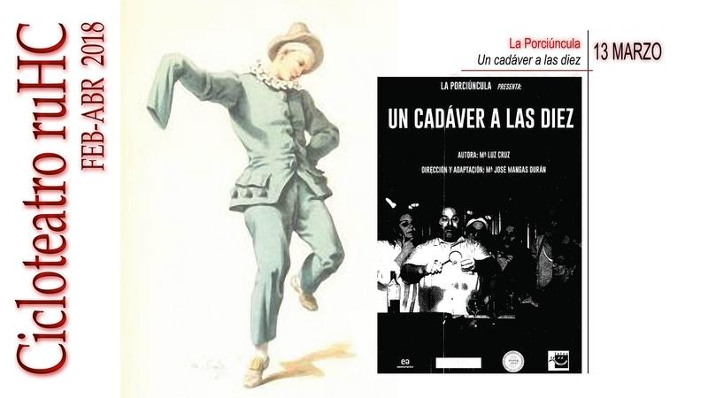 Teatro en la R.U. Hernán Cortés con la obra ''Un cadáver a las diez''