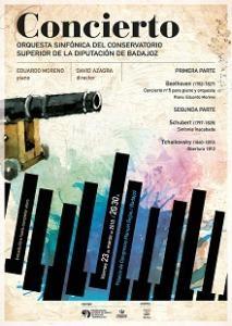 La Orquesta del Conservatorio Superior ofrecerá un concierto en el Palacio de Congresos de Badajoz