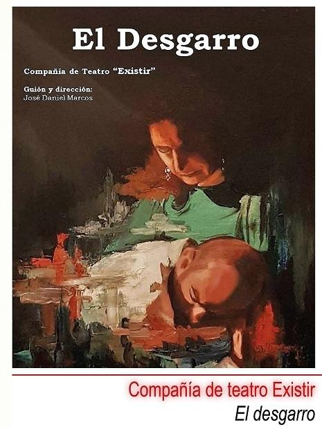 La compañía Existir representa en la la R.U. Hernán Cortés la obra de teatro 'El desgarro