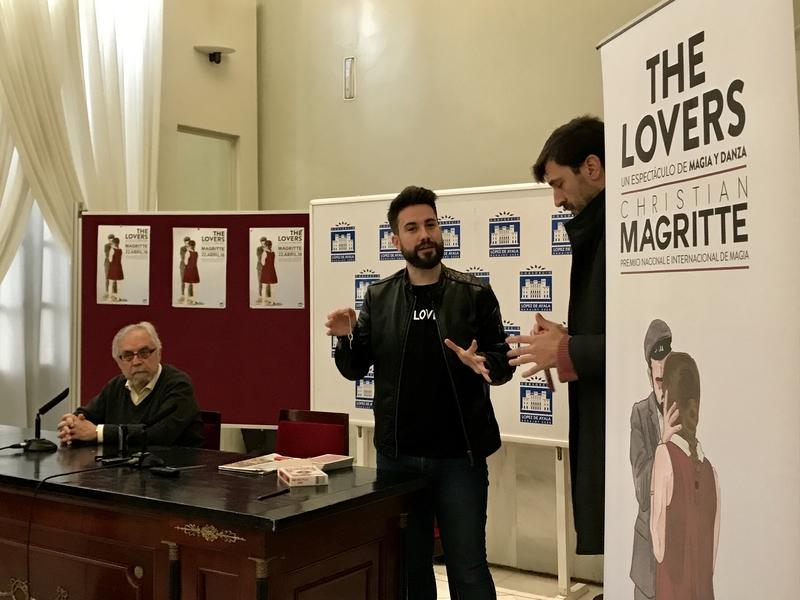 'The Lovers', lo último de Christian Magritte, aúna magia, teatro y danza en un espectáculo que incluye tres nuevas ilusiones