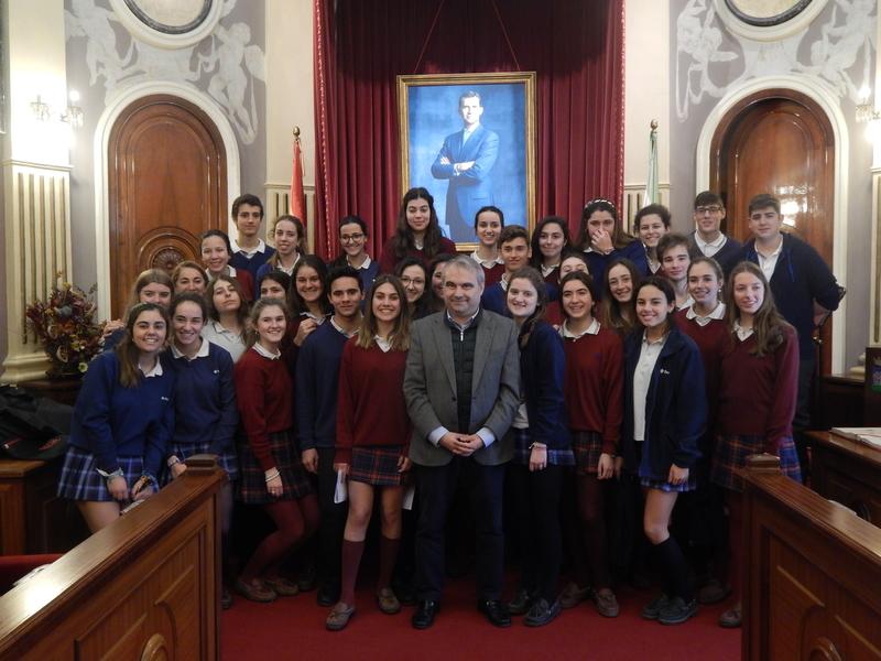 Seis alumnos de Badajoz defenderán sus opiniones en el Parlamento Europeo de Estrasburgo