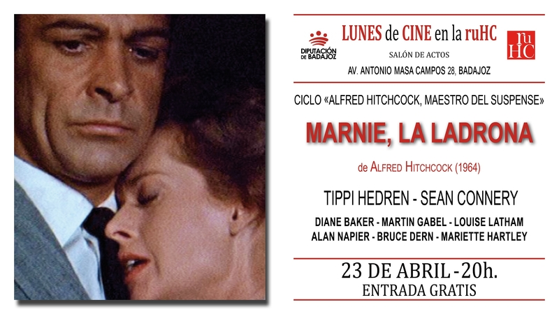 'Marnie la ladrona' llega a la gran pantalla de la Residencia Universitaria Hernán Cortés