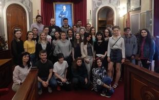 El ayuntamiento da la bienvenida a los estudiantes Erasmus+ de la UEx
