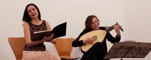 La programación del III Ciclo 'Juan Vázquez' culmina con un concierto de la soprano Delia Agúndez y el laúd de Alicia Lázaro