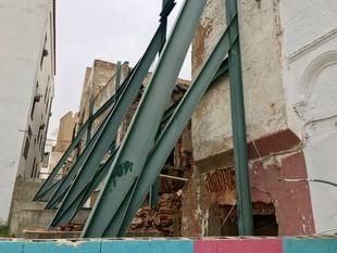 Ciudadanos insta al Ayuntamiento de Badajoz a que resuelva los problemas de derrumbe de los edificios del Casco Antiguo
