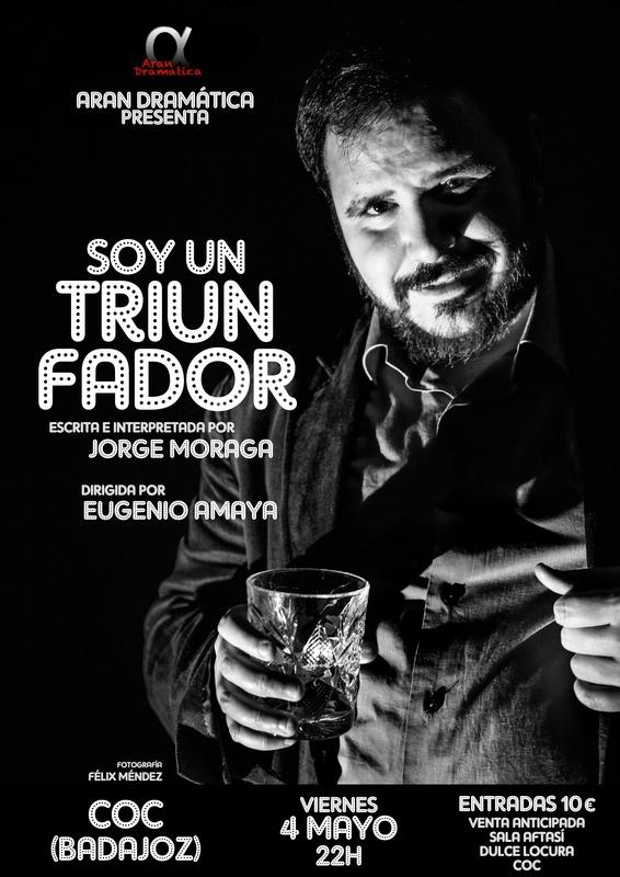 'Soy un triunfador' llega al Centro de Ocio Contemporaneo de Badajoz
