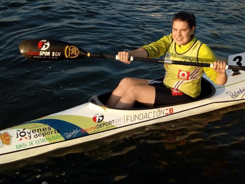 Elena Ayuso completó una gran actuación en la II Copa de España Sprint