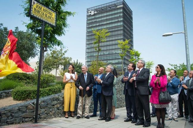 Badajoz rinde homenaje a José Antonio Marcos