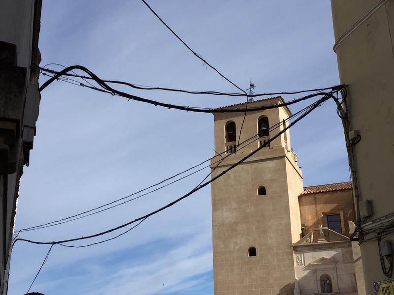 Ricardo Cabezas marcará como una de sus prioridades la eliminación del cableado en el Casco Antiguo