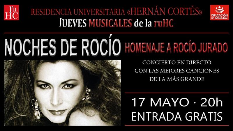 La Residencia Universitaria Hernán Cortés rinde homenaje a Rocío Jurado con sus mejores canciones