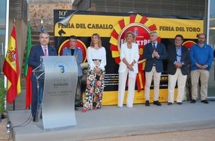 Antonio Ruiz Espartaco y Ángel Peralta, protagonistas de X Feria del Caballo y el Toro de Badajoz