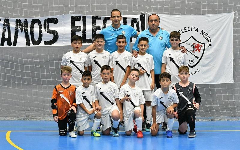 El Flecha Negra, anfitrión del Campeonato de España Benjamín de Fútbol Sala
