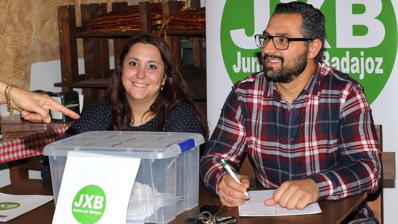 Luis García-Borruel será el candidato de Juntos X Badajoz a la alcaldía tras obtener el apoyo mayoritario de los afiliados