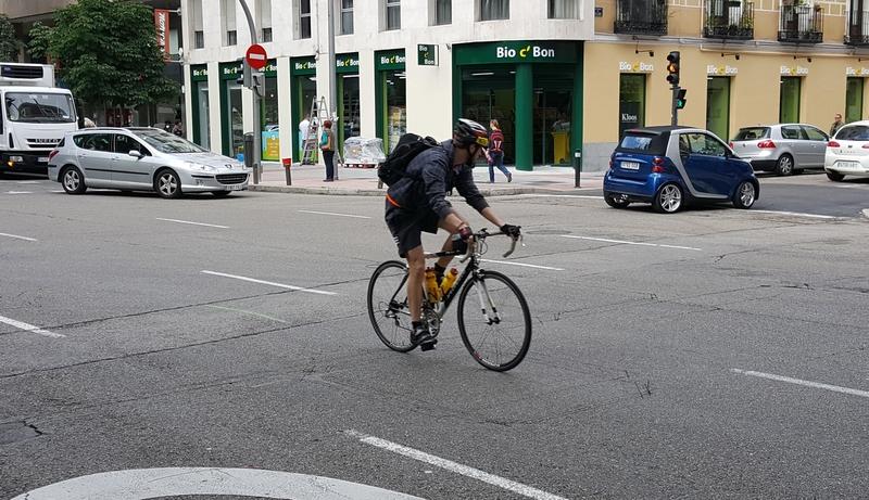El 5% de los heridos graves en accidente de Tráfico en Badajoz es ciclista