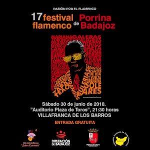 Comienza la cuenta atrás para el Festival Porrina de Badajoz