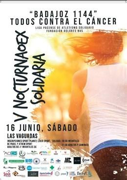 Badajoz corre contra el cáncer