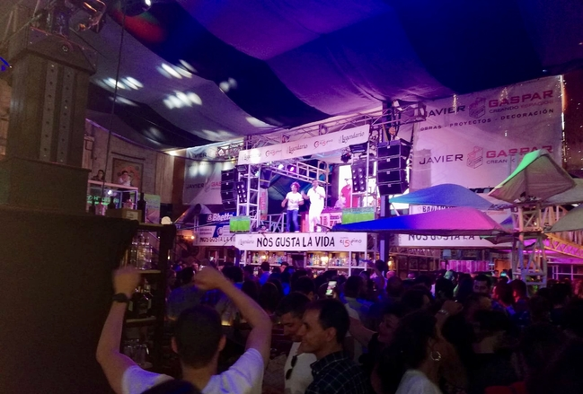 Intoxicación etílica y heridas accidentales, los incidentes más comunes en la Feria de San Juan
