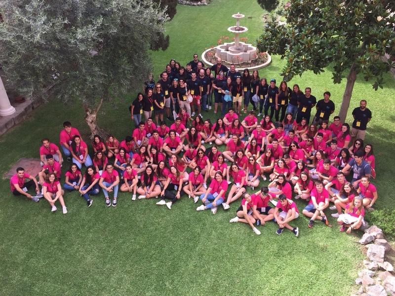 Un centenar de jóvenes y 70 profesores participan en Badajoz en el primer Campo de Trabajo de Fundación Educación Católica