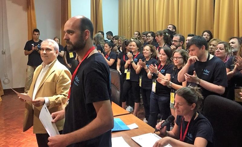 Fragoso entrega a un centenar de jóvenes de toda España los títulos que acreditan su participación en el I Campo de Trabajo FEC