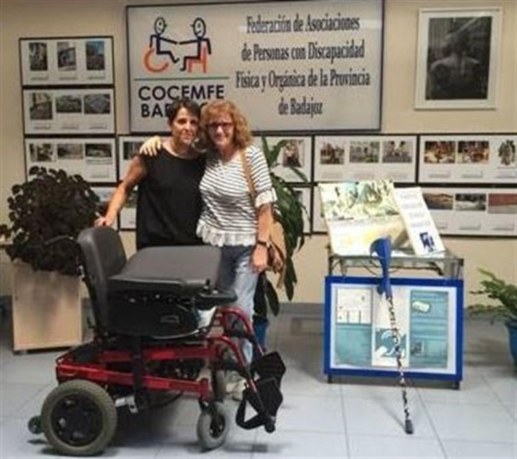 Dos asociaciones pacenses facilitarán de forma gratuita a discapacitados la silla de ruedas eléctrica y el scooter