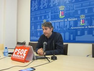 El PSOE de Badajoz critica que el equipo de gobierno