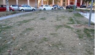 El PSOE de Badajoz critica el ''mal estado'' del parque de Ciudad Jardín tres meses después de su reforma