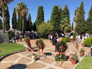 El PSOE rinde homenaje a las víctimas del franquismo