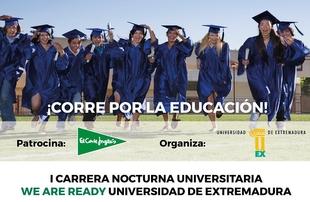 La Universidad de Extremadura acogerá la primera edición del Circuito We Are Ready El Corte Inglés para apoyar la educación