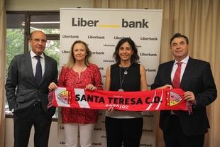 Liberbank y Santa Teresa Badajoz, unidos en un ilusionante proyecto
