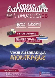 Fundación CB oferta 54 plazas para una excursión a Monfragüe