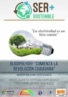 Sesión de Cine para comprender mejor el mercado eléctrico y SER+SOSTENIBLE