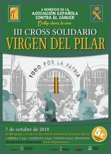 III Cross Solidario organizado por la Guardia Civil de Badajoz a favor de la Asociación Española Contra el Cáncer