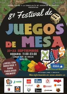El ''VIII Festival de Juegos de Mesa de Badajoz'' llega este viernes