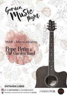 La Garden Music Night regresa a los jardines de la Residencia Universitaria de Fundación CB