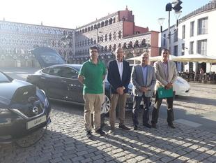 La Plaza de Conquistadores albergará el II Encuentro Ibérico de Vehículos Eléctricos