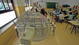 Estudiantes pacenses denuncian que el calor en los institutos es insoportable y protestarán si no hay soluciones en 48h