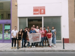 Juventudes socialistas de Badajoz renueva su comisión ejecutiva local