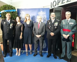 Entregadas en Badajoz las Condecoraciones con motivo del día de la Policía Nacional