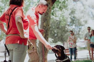 Can de Luna habla de educación canina en positivo en Ámbito Cultural