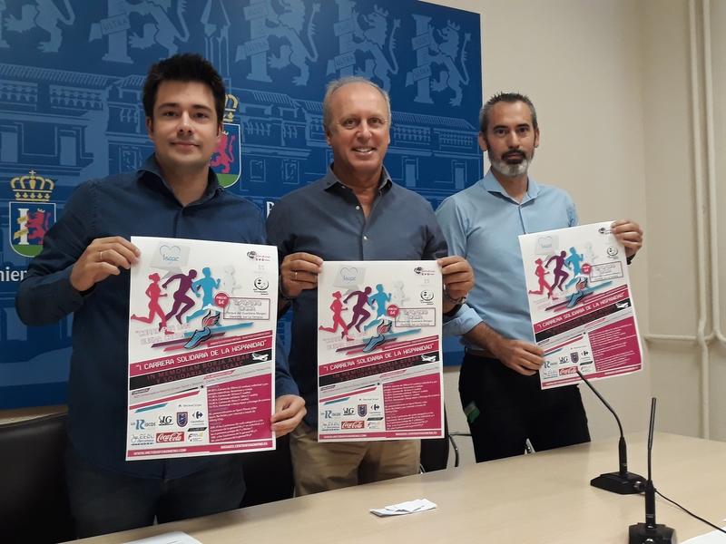 Primera Carrera Solidaria de la Hispanidad en memoria de Borja Aybar y solidaria con Isaac