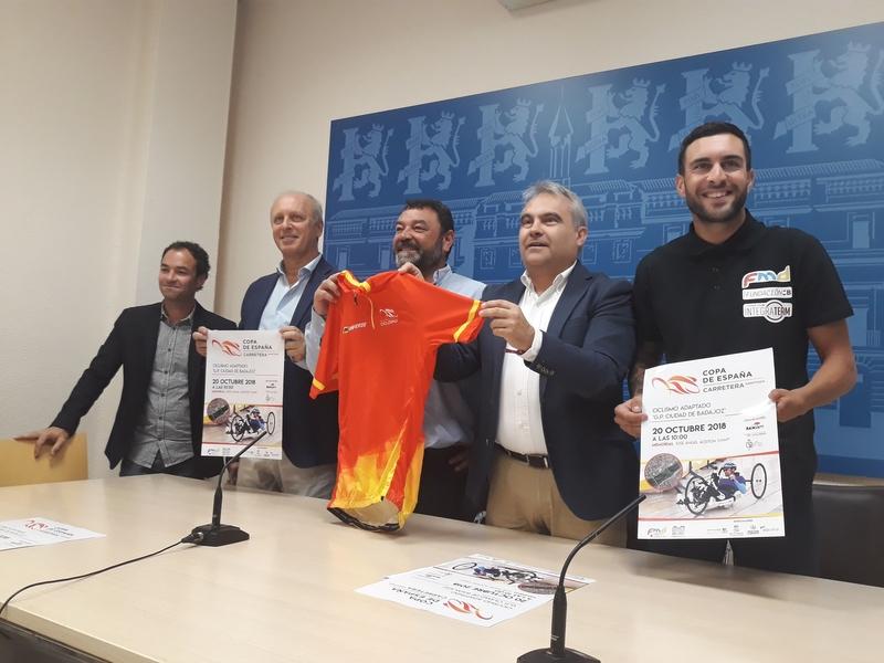Badajoz acoge el día 20 la Copa de España de ciclismo adaptado