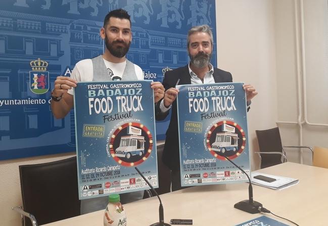 El II Badajoz Food Truck reunirá este fin de semana a más de una decena de furgonetas