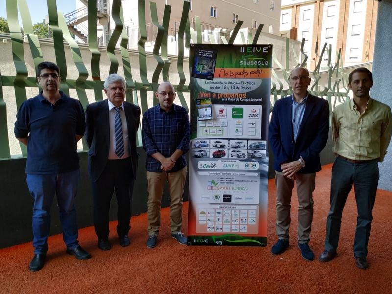 El II Encuentro de Vehículos Eléctricos del Corredor del Sudoeste, cita ineludible con la movilidad eléctrica