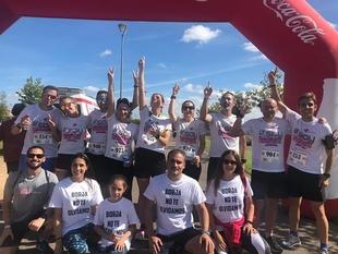 La I Carrera Solidaria de la Hispanidad se celebró en Badajoz con éxito de participantes