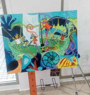 Suerte de Saavedra inaugura su semana cultural