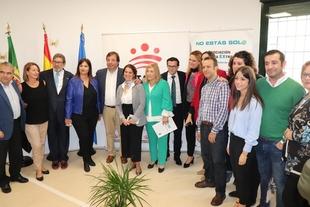 Inaugurada la sede de la Asociación Oncológica Extremeña en Badajoz