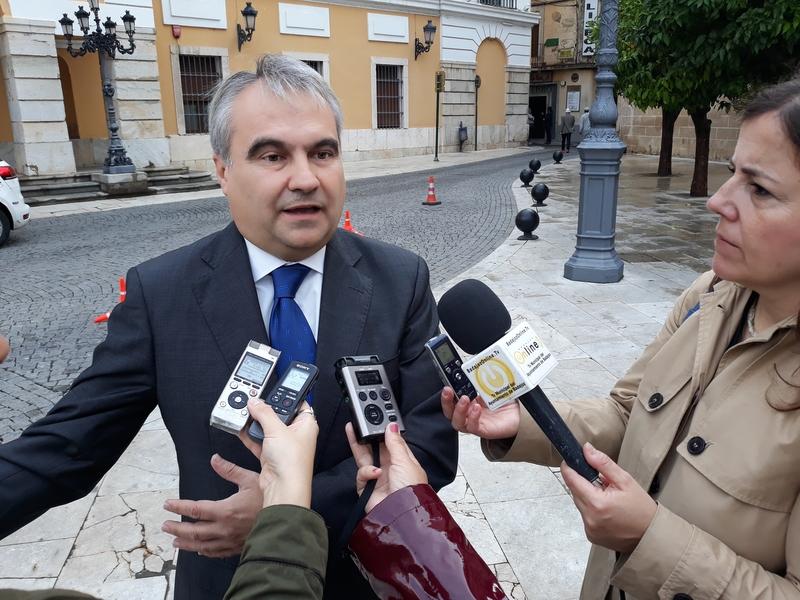 El alcalde afirma que ''pronto'' presentarán a la ciudad los Presupuestos