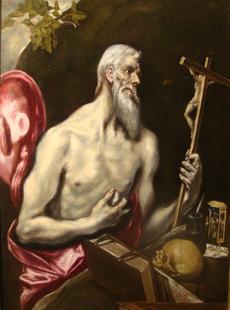 El cuadro ''San Jerónimo Penitente'', de El Greco,  permanecerá expuesto en la Catedral