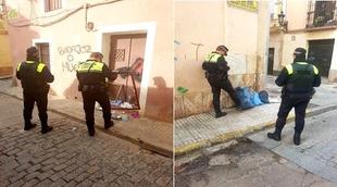 La Policia incrementa el control de infracciones a las ordenanzas municipales en el casco antiguo