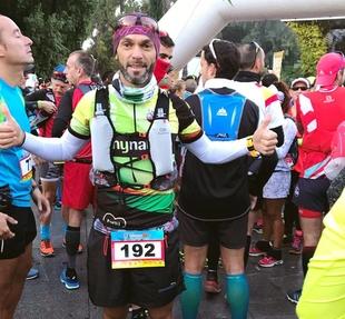 Sergio Gómez del Tany Nature acabó sexto en la  VI Doñana Trail Maratón de 71 kilómetros